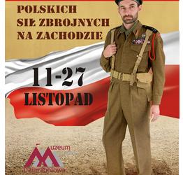 Wystawa mundurów Polskich Sił Zbrojnych na Zachodzie
