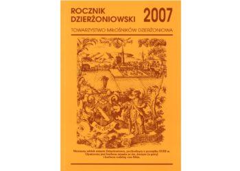 Rocznik Dzierżoniowski 2007