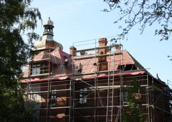 Muzeum nieczynne – remont dachu