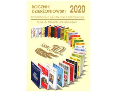 """okładka wydawnictwa """"Rocznik Dzierżoniowski 2020"""""""